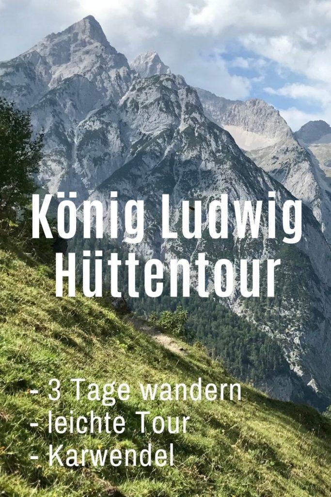 Hüttentour Alpen -  Merk dir für deine Hüttenwanderung diesen Pin auf Pinterest!